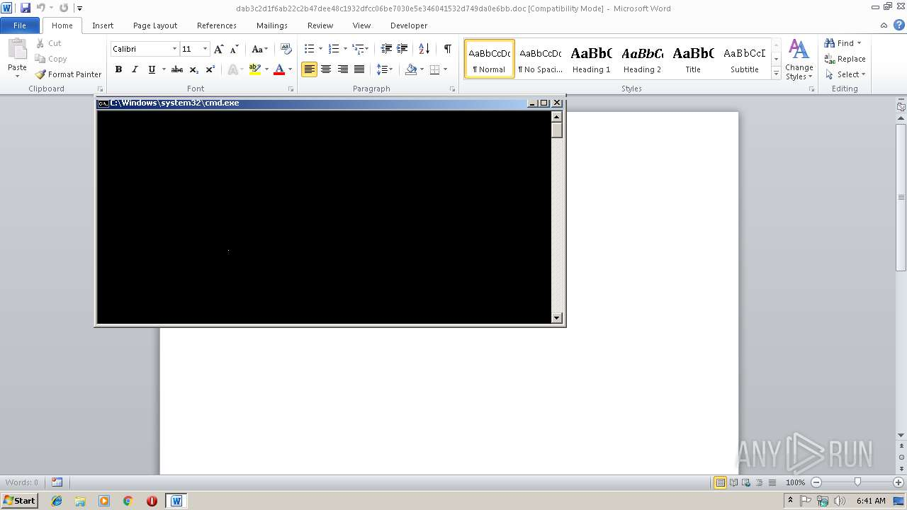Screenshot of dab3c2d1f6ab22c2b47dee48c1932dfcc06be7030e5e346041532d749da0e6bb taken from 22462 ms from task started