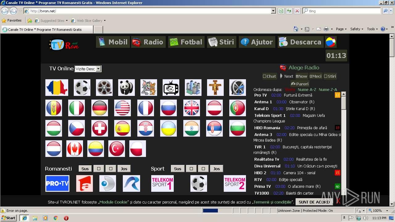 canale tv online gratis