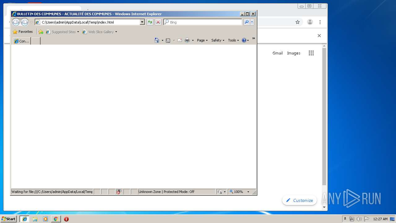 Screenshot of c65c04cb0301051fb00153868900fcd7f7a43bf66f7f8e8acf61886df9856b0b taken from 95007 ms from task started