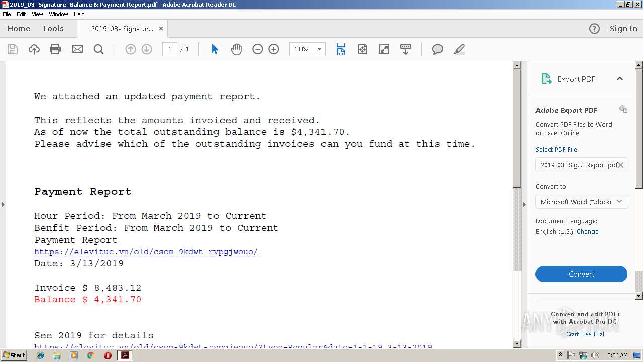 Screenshot of ea3c0884032c0296dac8eb2135b6e8bcf78d59ed6e70fdeee86b358d9e201c7c taken from 28558 ms from task started