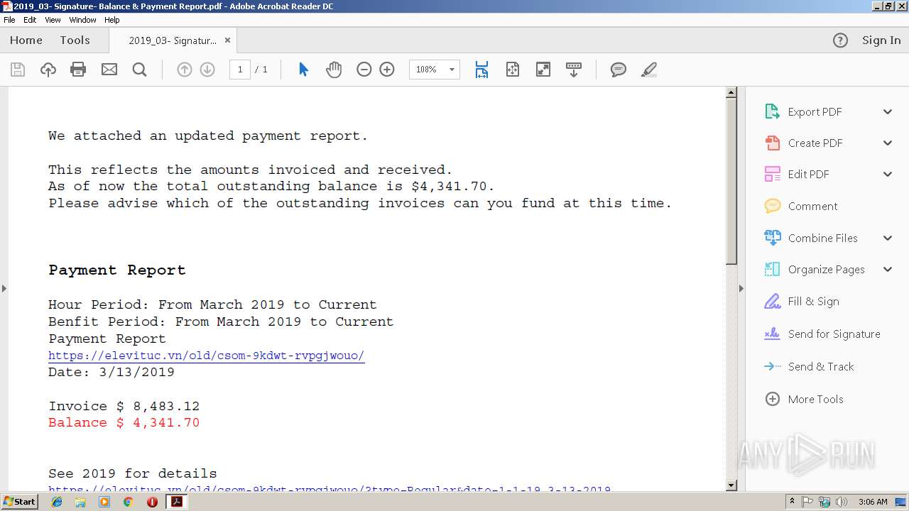 Screenshot of ea3c0884032c0296dac8eb2135b6e8bcf78d59ed6e70fdeee86b358d9e201c7c taken from 23504 ms from task started