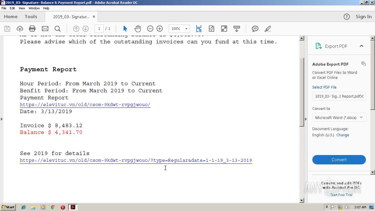 Screenshot of ea3c0884032c0296dac8eb2135b6e8bcf78d59ed6e70fdeee86b358d9e201c7c taken from 79108 ms from task started