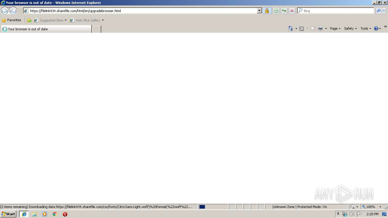 Screenshot of unknown taken from 36628 ms from task started
