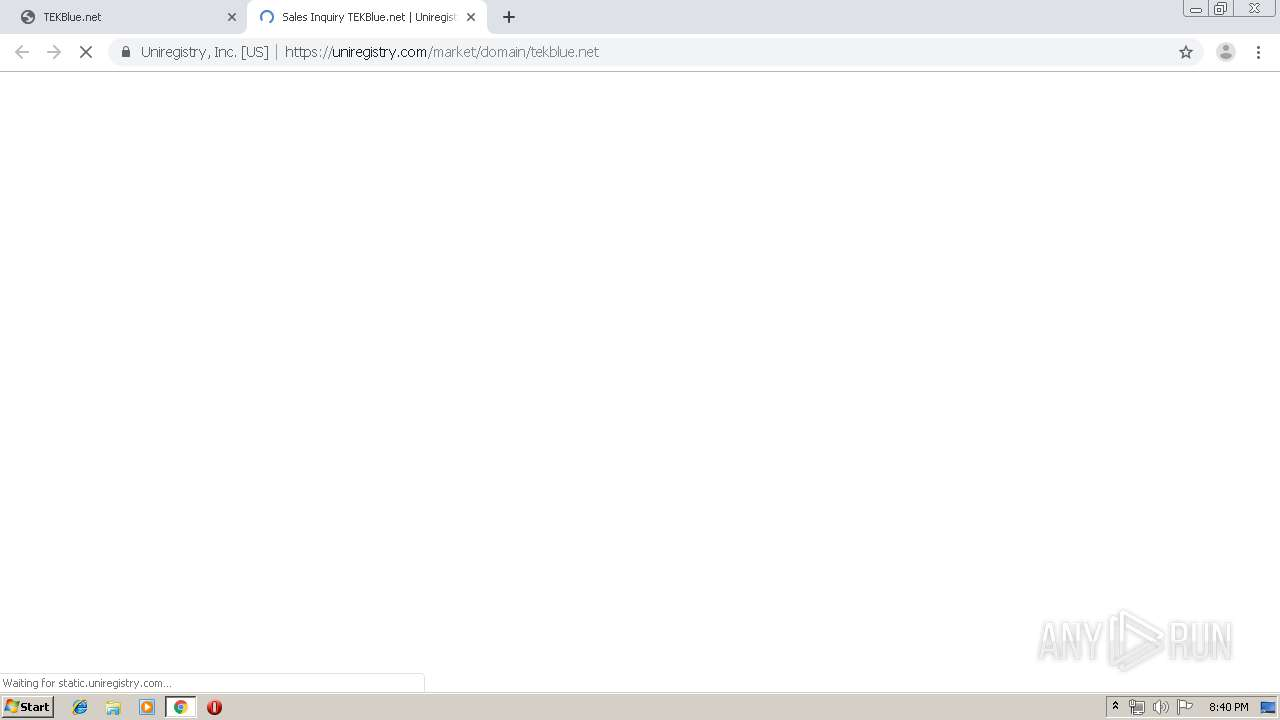 Screenshot of unknown taken from 64625 ms from task started