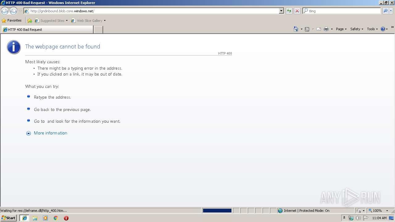 http://gridinbound blob core windows net | ANY RUN - Free