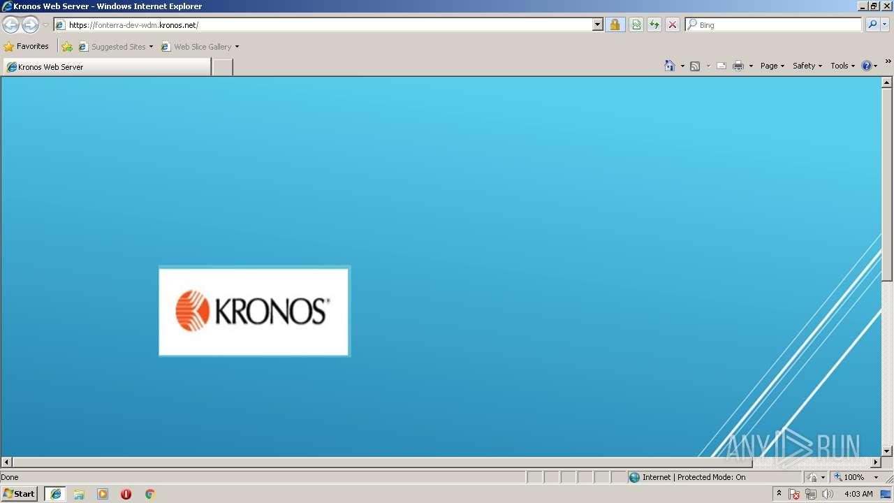 Kronos Target Server