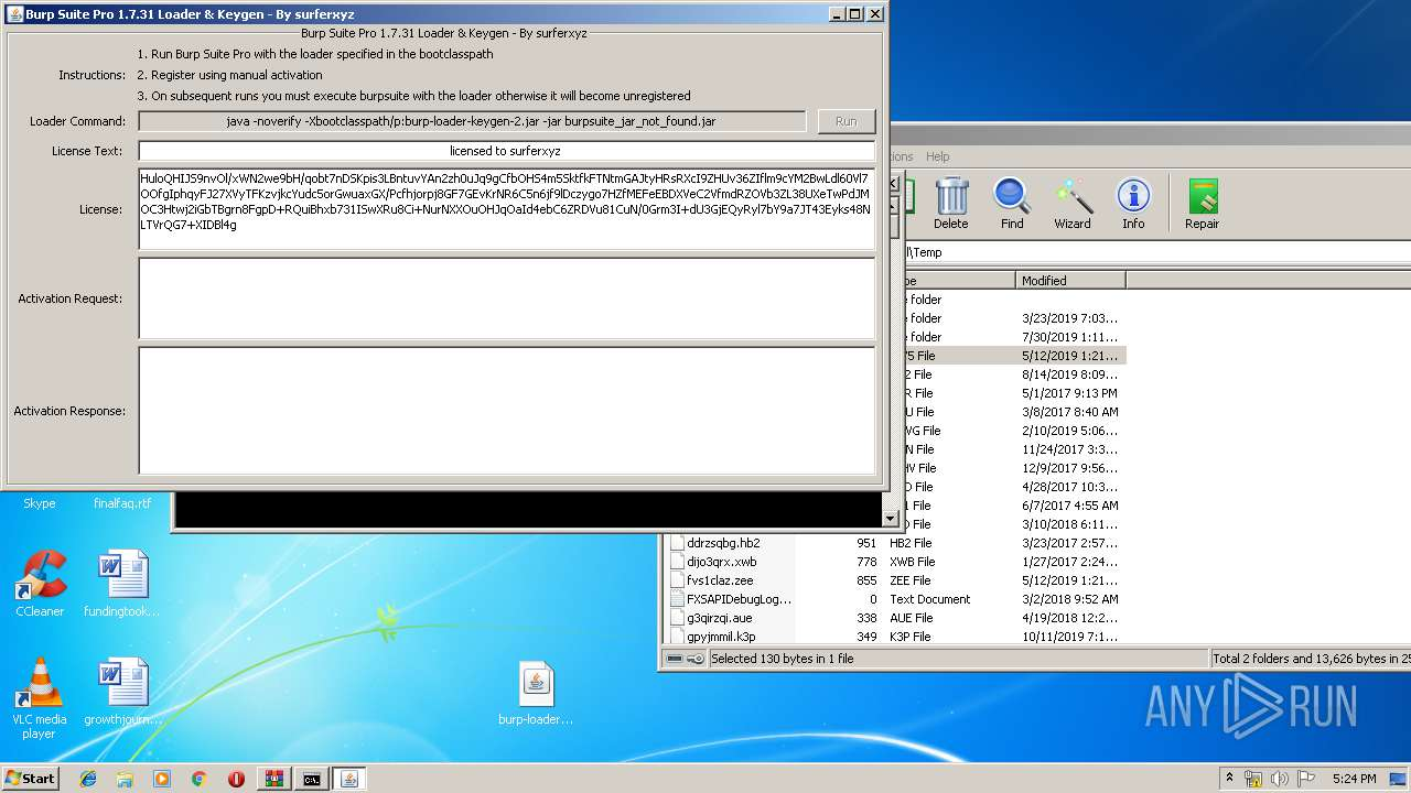 Screenshot of bcd2fa3e86b61dcca41d94e7a059ff12ef9d061f97b1e784e76c4b123682e901 taken from 89550 ms from task started