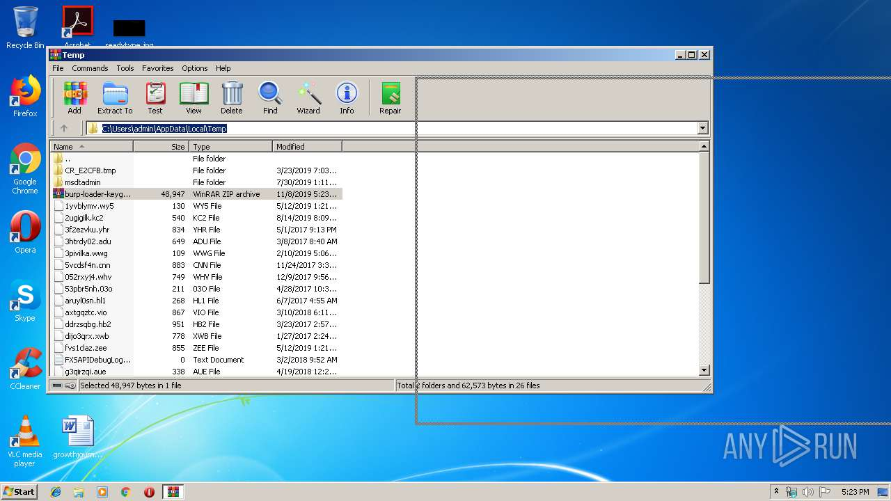 Screenshot of bcd2fa3e86b61dcca41d94e7a059ff12ef9d061f97b1e784e76c4b123682e901 taken from 28848 ms from task started