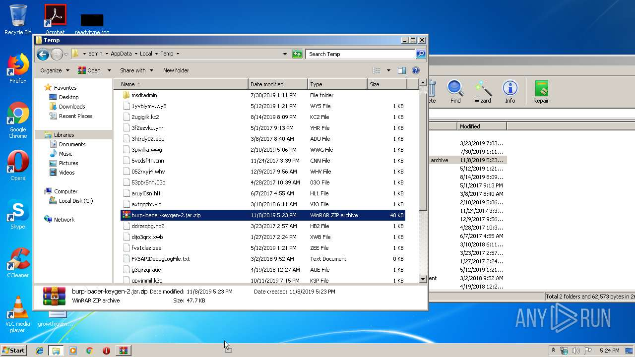 Screenshot of bcd2fa3e86b61dcca41d94e7a059ff12ef9d061f97b1e784e76c4b123682e901 taken from 58020 ms from task started