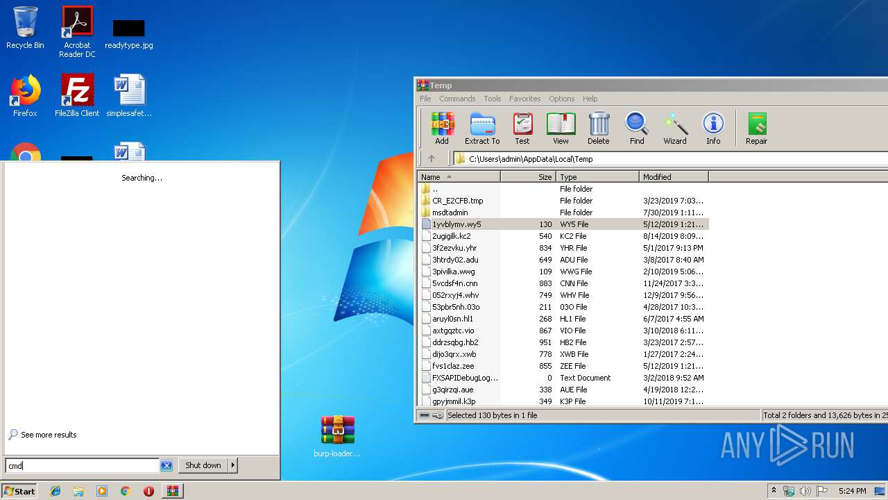 Screenshot of bcd2fa3e86b61dcca41d94e7a059ff12ef9d061f97b1e784e76c4b123682e901 taken from 72348 ms from task started