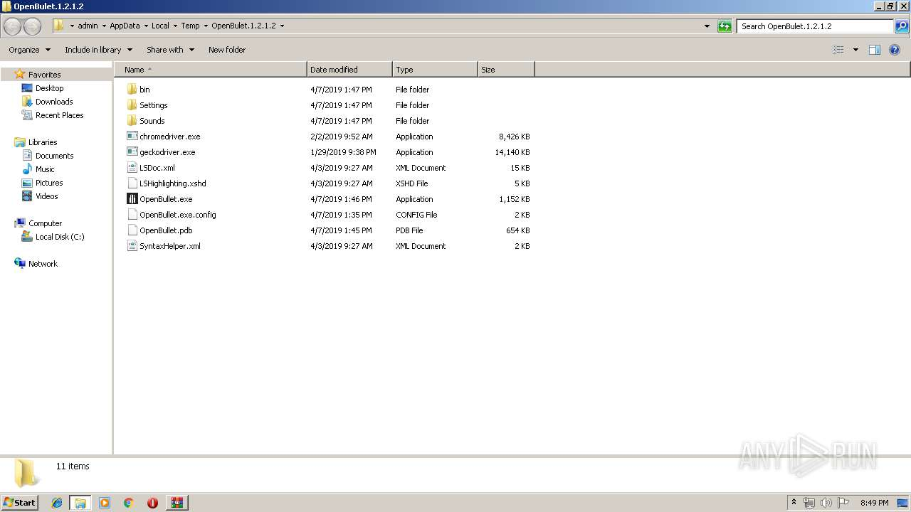Screenshot of 26303176a4cc7b5f487d495ff3df540353047b701176a20921daf3284ef4d266 taken from 46158 ms from task started