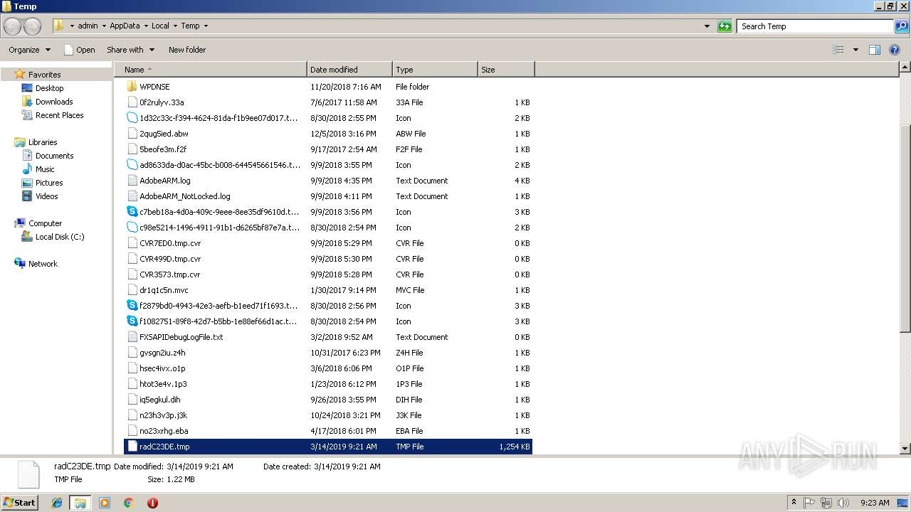 Screenshot of unknown taken from 182558 ms from task started