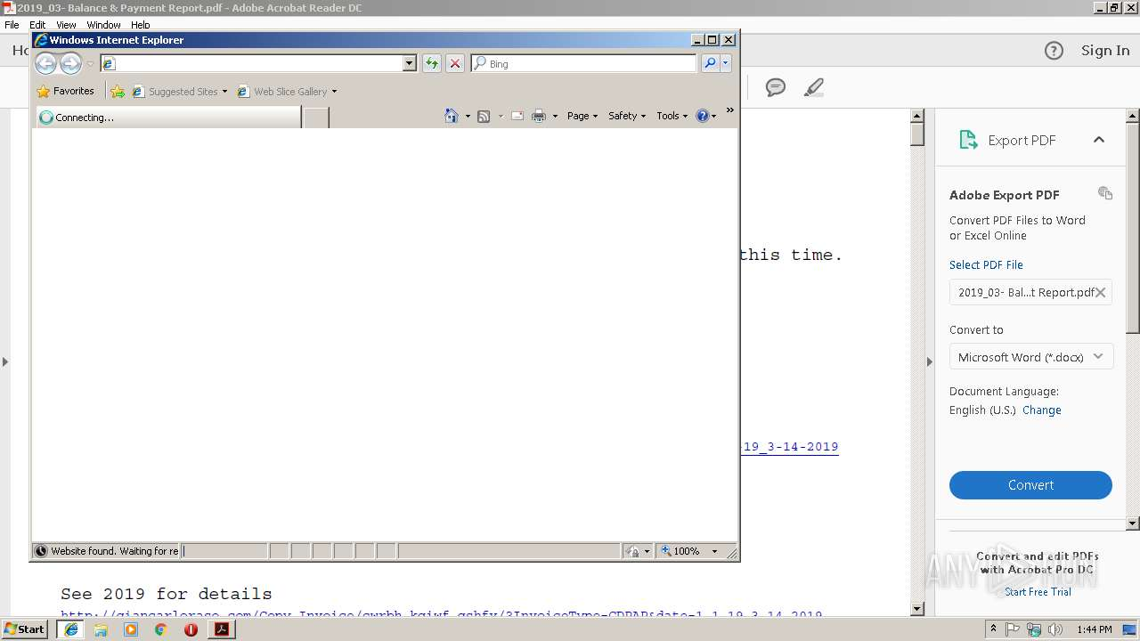 Screenshot of d24ae44e608b105b88293d760b1707e286825eafb216c2d6befe1b946c21faaa taken from 22045 ms from task started