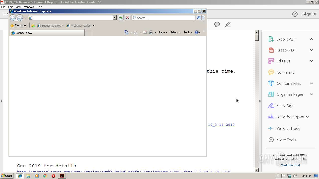 Screenshot of d24ae44e608b105b88293d760b1707e286825eafb216c2d6befe1b946c21faaa taken from 20976 ms from task started