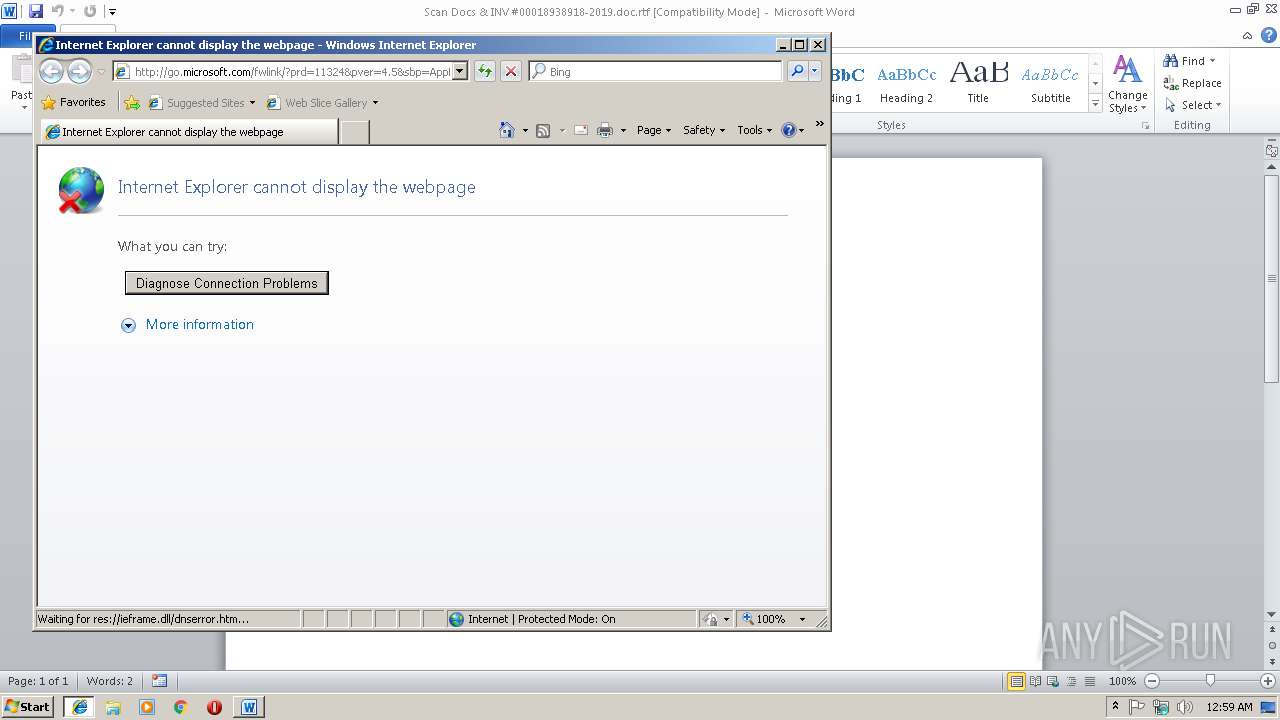 Screenshot of dd47c39fa54fc00f3f71f79e8846a6fc38ac7a8fe2bc88e4410c436da4fdf856 taken from 43892 ms from task started