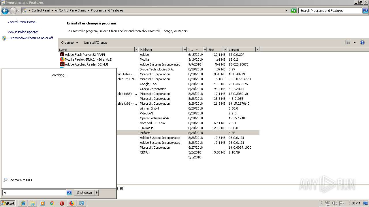 Firefox 65 Msi