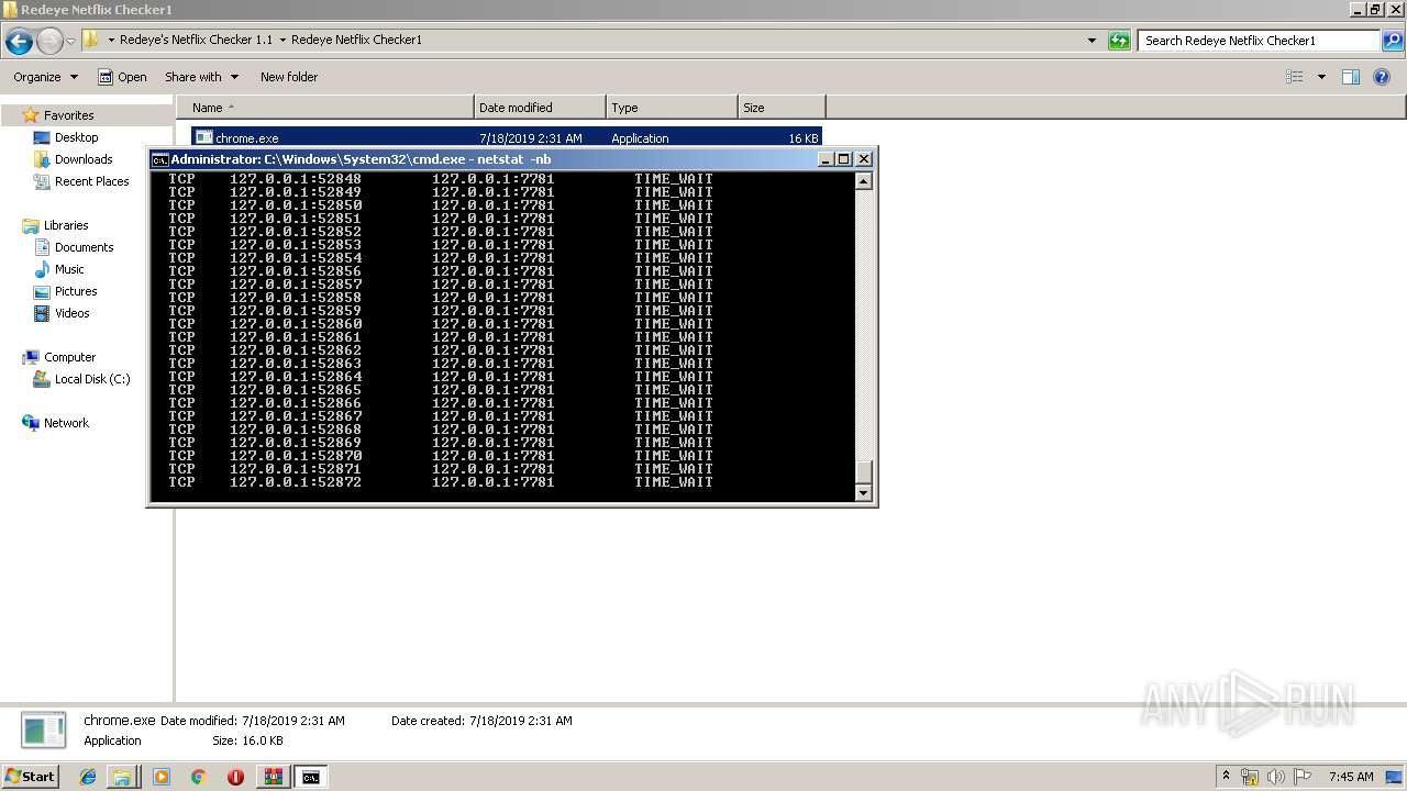 Screenshot of 9ccdb6f1f64bb12fddcd339318894ee927a53342b11e41abe243bcf3aa36276a taken from 268088 ms from task started