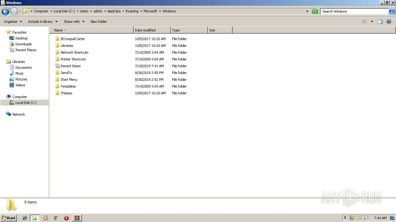 Screenshot of 9ccdb6f1f64bb12fddcd339318894ee927a53342b11e41abe243bcf3aa36276a taken from 226001 ms from task started