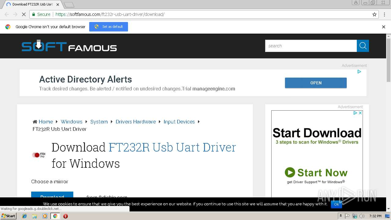ft232r usb uart driver download windows 7