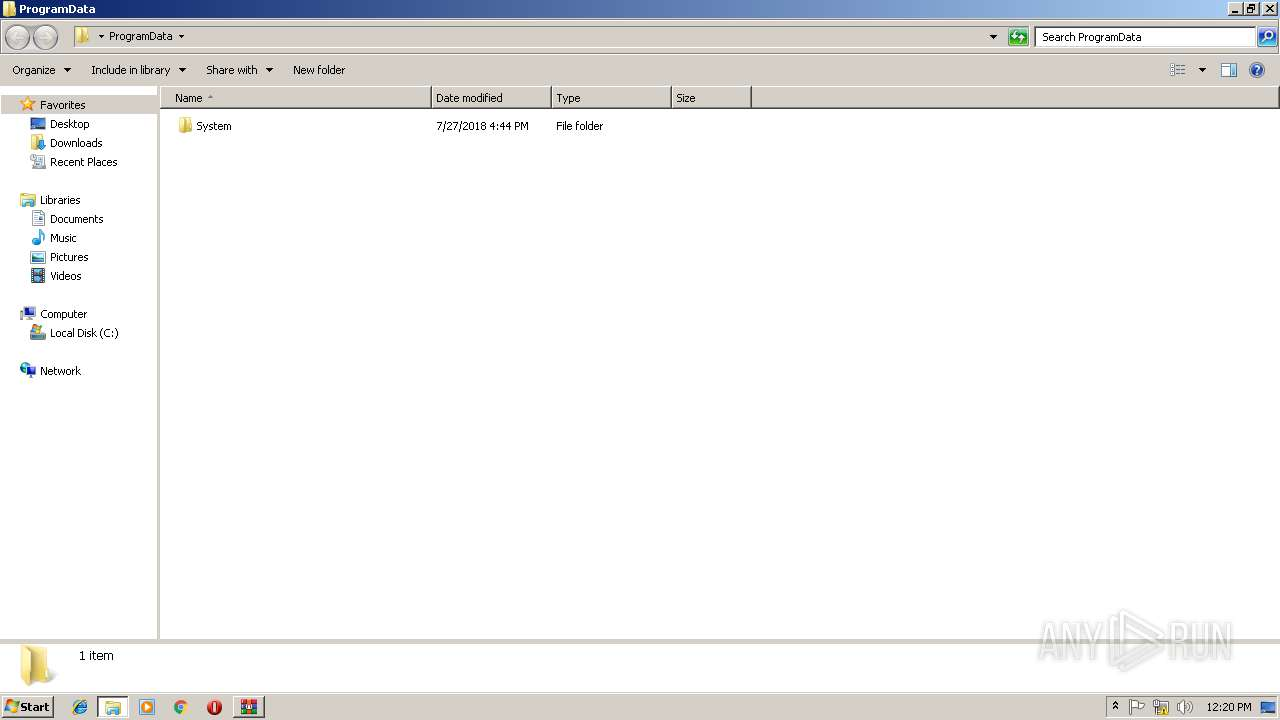 Screenshot of db9fadb36630ed9e37f1394bee68e1ddf9e56e910cb674247d603a322dc4344e taken from 120209 ms from task started