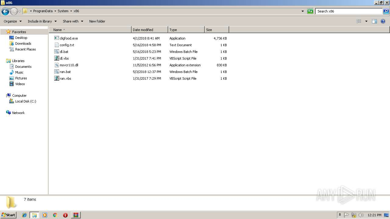 Screenshot of db9fadb36630ed9e37f1394bee68e1ddf9e56e910cb674247d603a322dc4344e taken from 128276 ms from task started