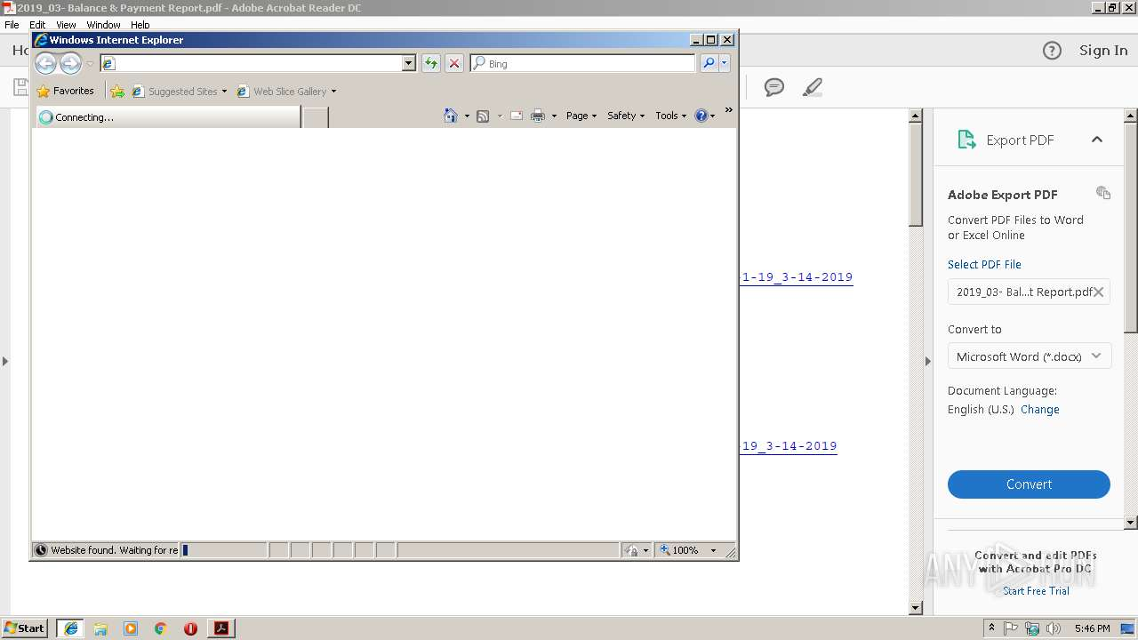 Screenshot of 2a179c87efe672657a364a48434ea35d4f9d619bfaaed57bcacf90d44c37777a taken from 36237 ms from task started