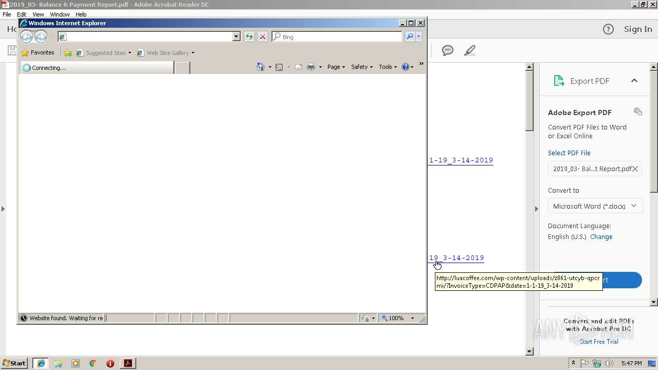 Screenshot of 2a179c87efe672657a364a48434ea35d4f9d619bfaaed57bcacf90d44c37777a taken from 65414 ms from task started