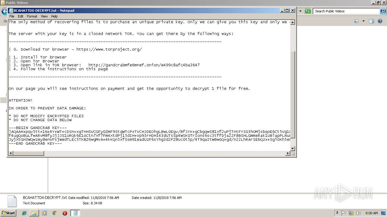 Screenshot of c14013b44dfc2643a3bd32b17d5e55ff124be64e313abd5725c5b25b63ae2869 taken from 265453 ms from task started