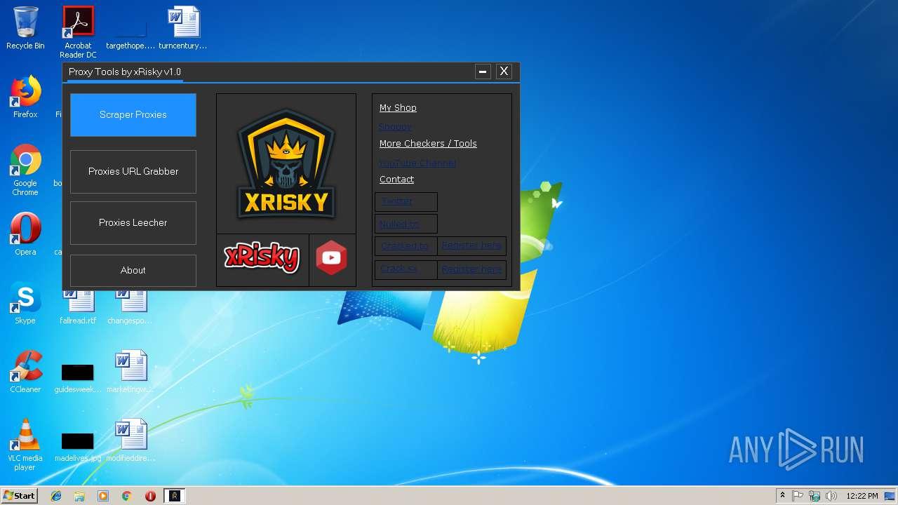 Proxy Tools by xRisky v1 0 exe (MD5