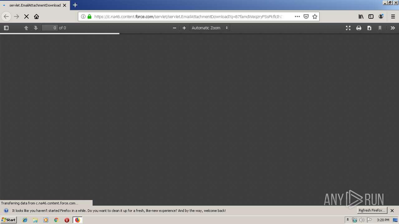 Screenshot of beffdfcffafd26836f717d19c78daa49015ec2fb74d373da72cb00770f5ca809 taken from 37868 ms from task started