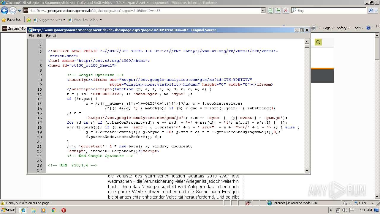 http://www jpmorganassetmanagement de/ | ANY RUN - Free Malware