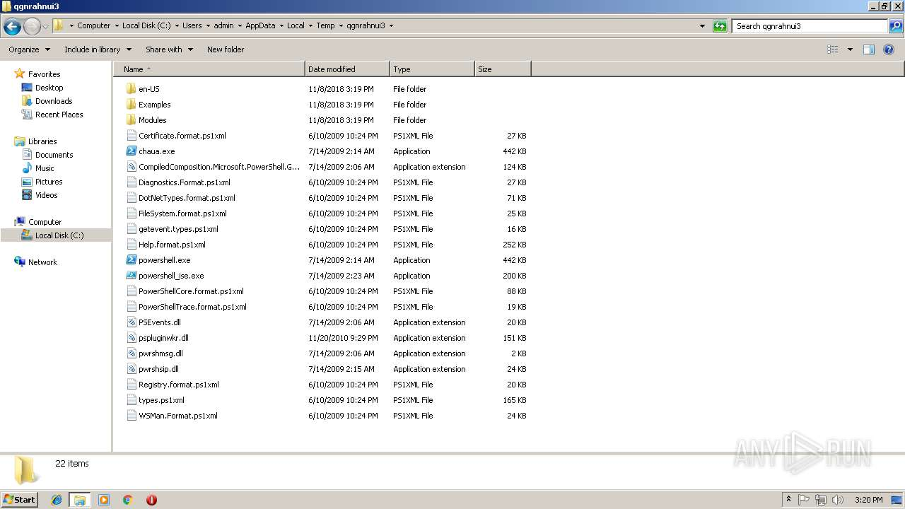 Screenshot of b84e2524f59f318d5f8bd01b4ccc38fbd691f382873892d5304d760faf0064c7 taken from 159374 ms from task started