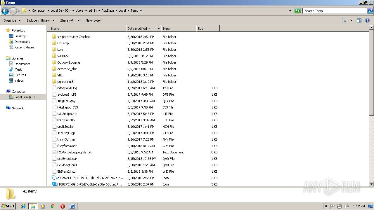 Screenshot of b84e2524f59f318d5f8bd01b4ccc38fbd691f382873892d5304d760faf0064c7 taken from 301681 ms from task started