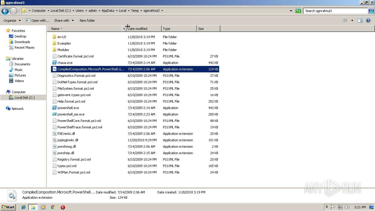 Screenshot of b84e2524f59f318d5f8bd01b4ccc38fbd691f382873892d5304d760faf0064c7 taken from 194039 ms from task started