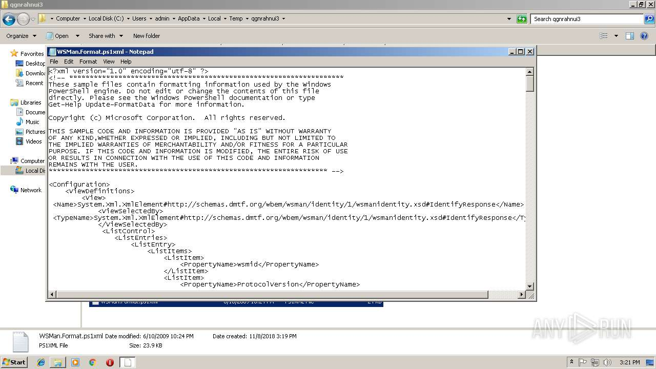 Screenshot of b84e2524f59f318d5f8bd01b4ccc38fbd691f382873892d5304d760faf0064c7 taken from 201177 ms from task started