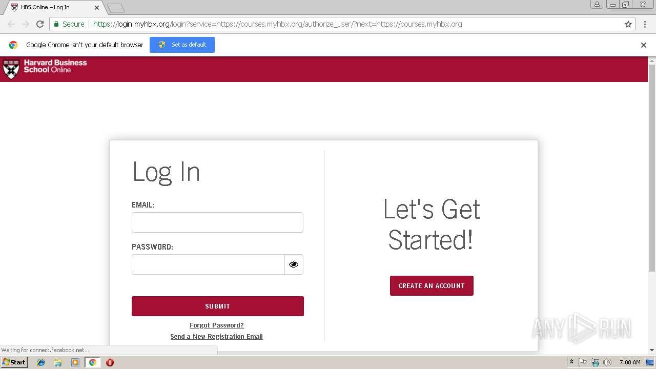 hbs online login