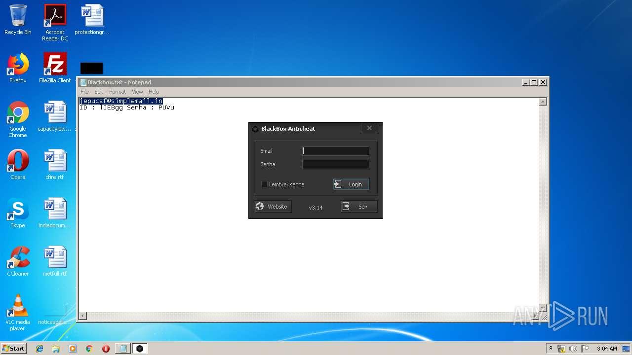 Screenshot of cfb1b2e554a5a65d71bffca9b0ea5d1a9e73d2c7ade3937a8f5a912b6f13c4f6 taken from 43318 ms from task started