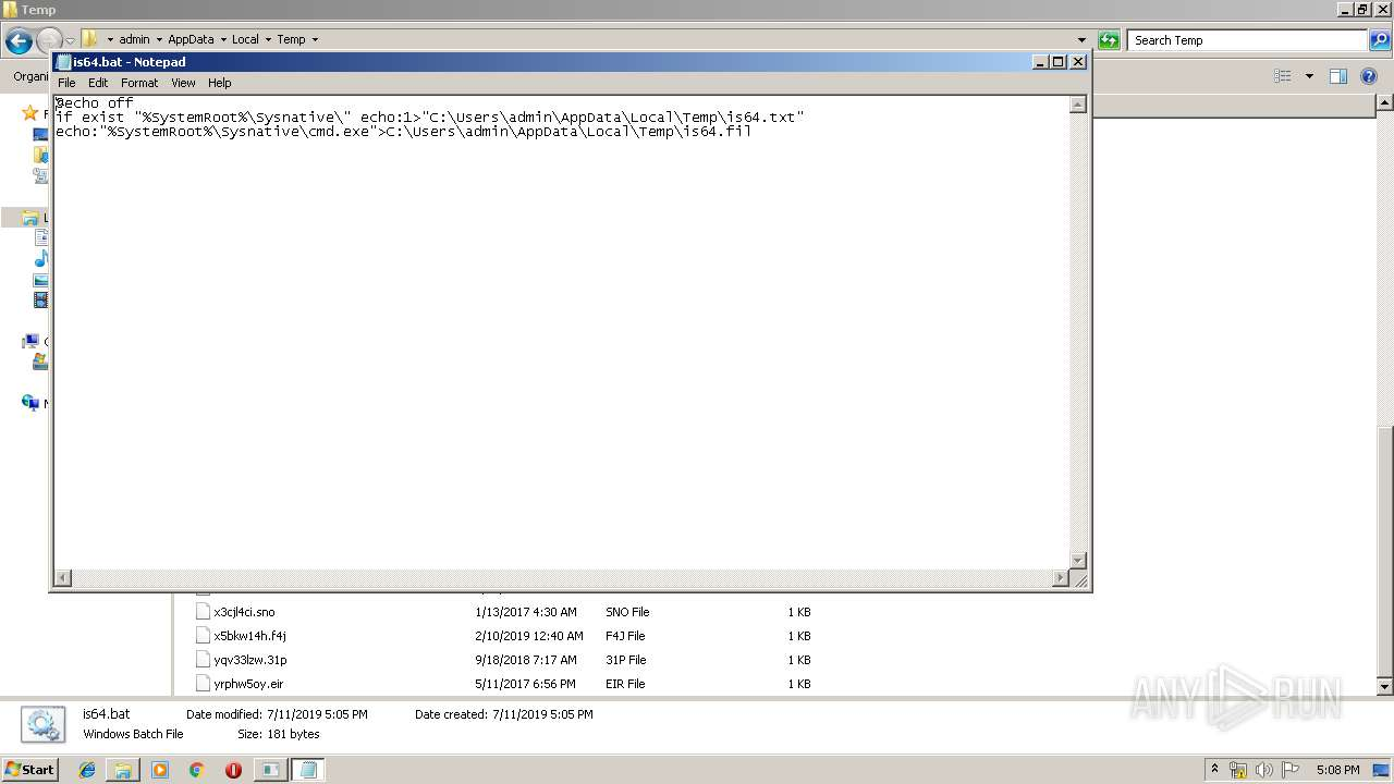 Screenshot of 9948315750fc4307f9b488bba9c87e61d36309c68100f868bbfec0fc860ee300 taken from 182112 ms from task started
