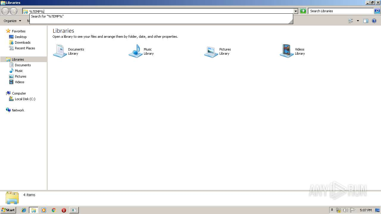 Screenshot of 9948315750fc4307f9b488bba9c87e61d36309c68100f868bbfec0fc860ee300 taken from 109912 ms from task started