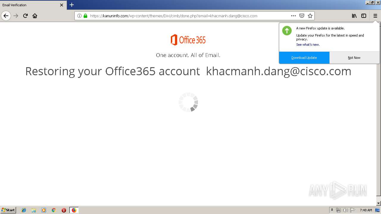 Screenshot of unknown taken from 45681 ms from task started