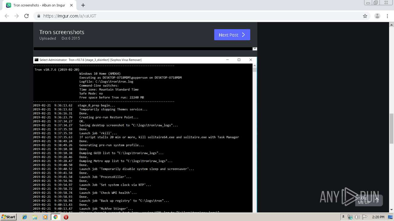 Screenshot of unknown taken from 60562 ms from task started