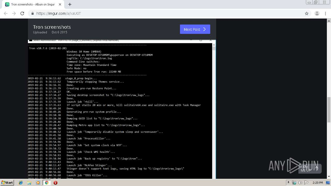 Screenshot of unknown taken from 58561 ms from task started