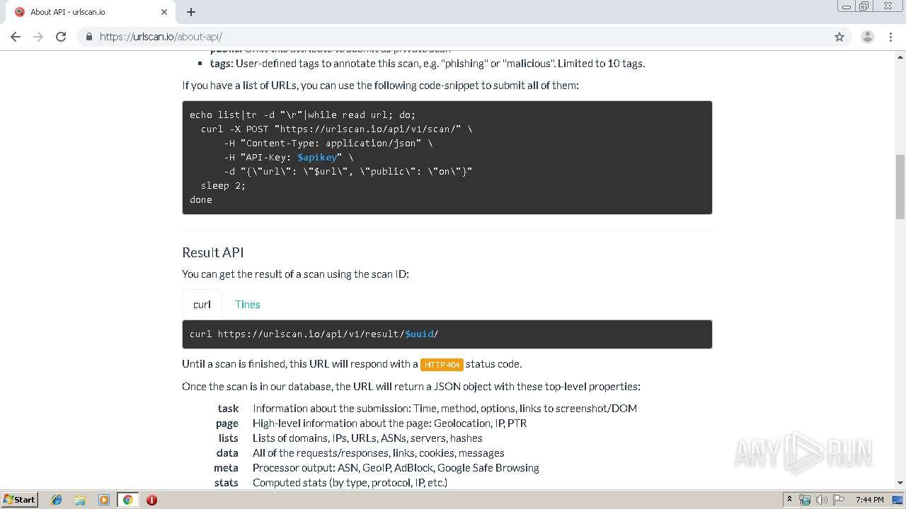 http//urlscan.io   ANY.RUN   Free Malware Sandbox Online