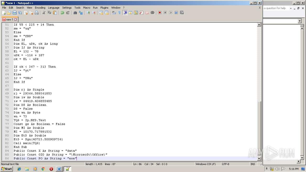 Screenshot of 6e820b5732cd8bb95546cf39aeb6babe90cf4cc7dde675b718710babcf1740b5 taken from 126045 ms from task started