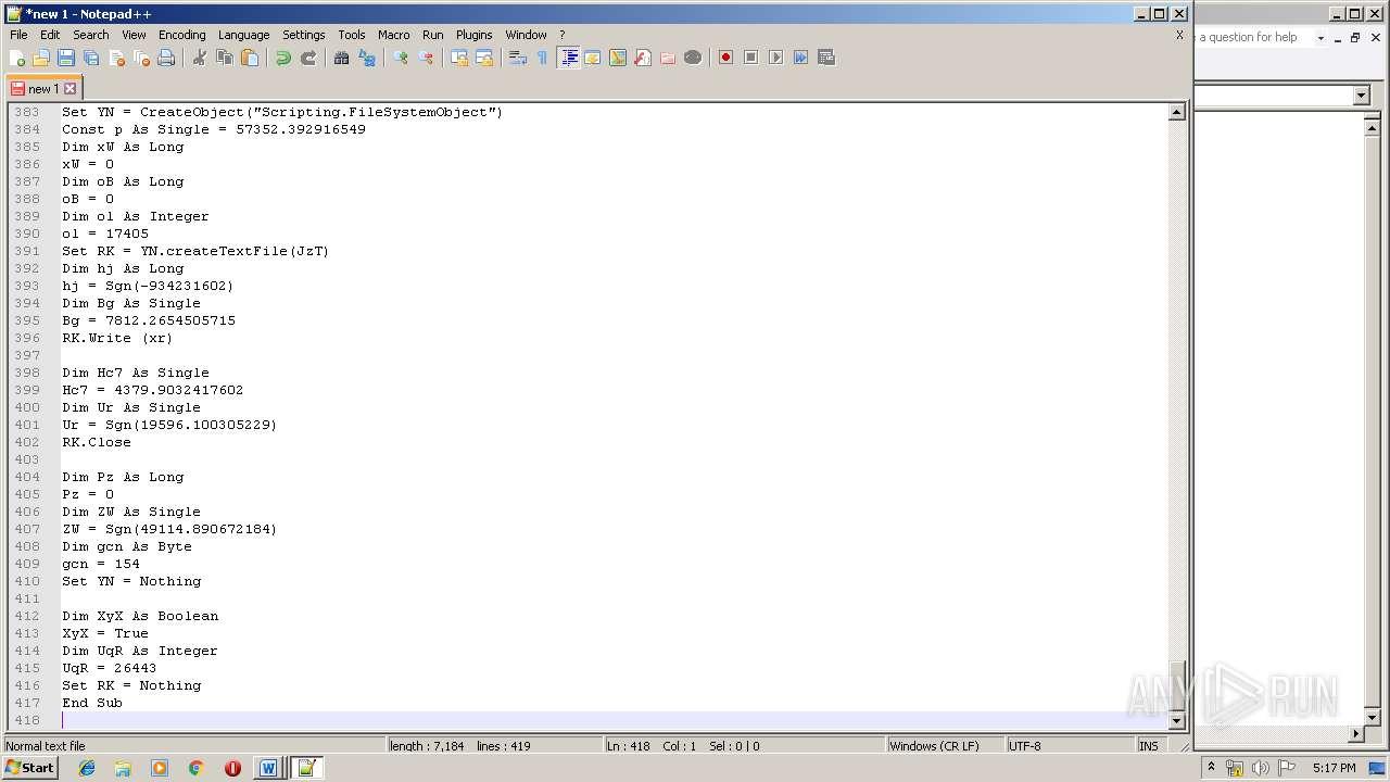 Screenshot of 6e820b5732cd8bb95546cf39aeb6babe90cf4cc7dde675b718710babcf1740b5 taken from 153241 ms from task started