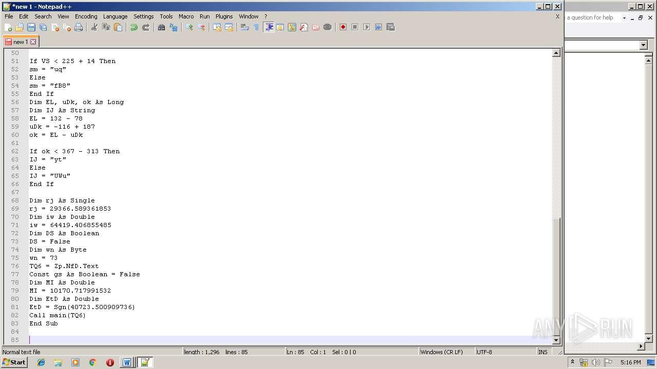 Screenshot of 6e820b5732cd8bb95546cf39aeb6babe90cf4cc7dde675b718710babcf1740b5 taken from 92794 ms from task started