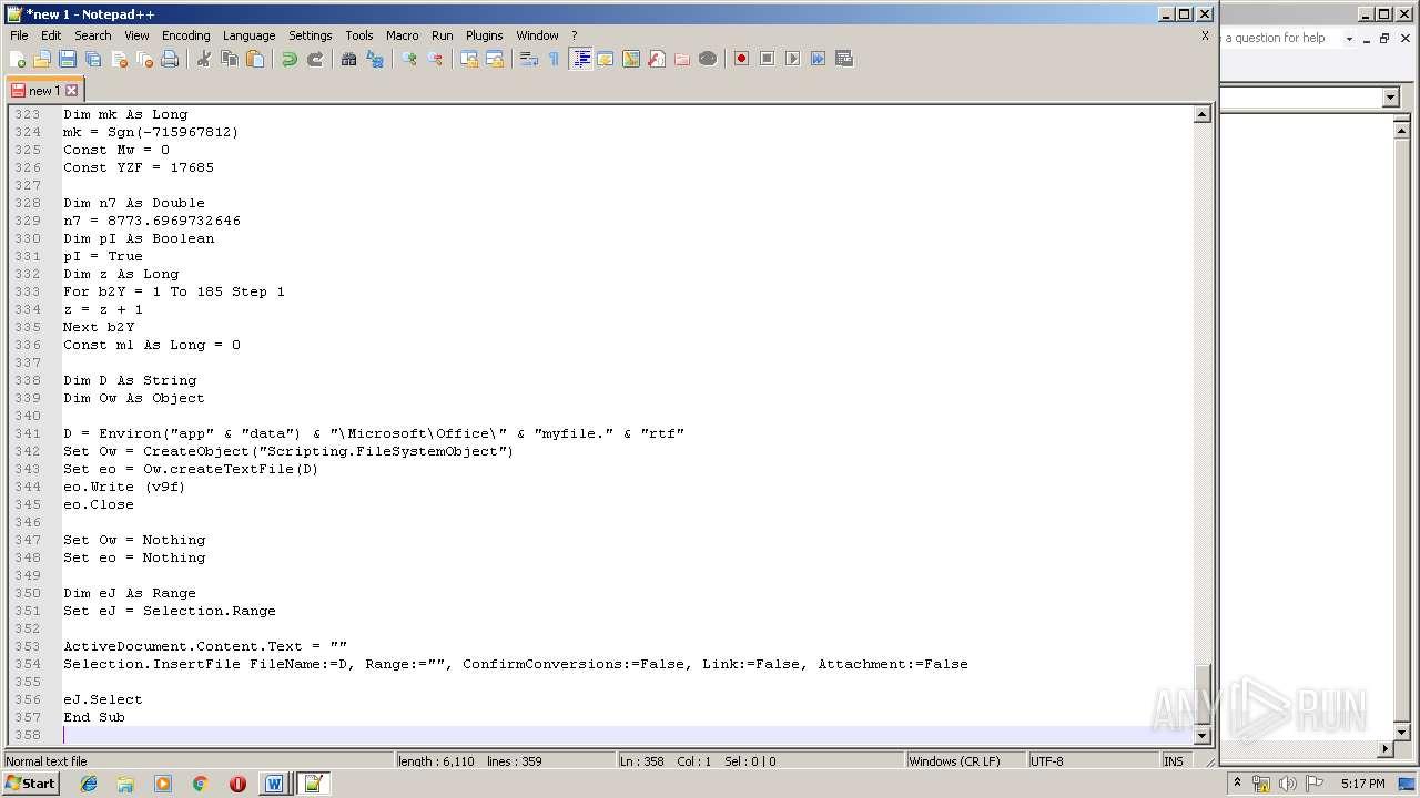 Screenshot of 6e820b5732cd8bb95546cf39aeb6babe90cf4cc7dde675b718710babcf1740b5 taken from 147199 ms from task started