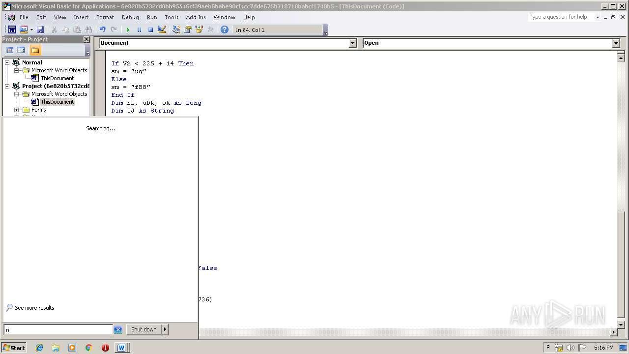 Screenshot of 6e820b5732cd8bb95546cf39aeb6babe90cf4cc7dde675b718710babcf1740b5 taken from 78679 ms from task started