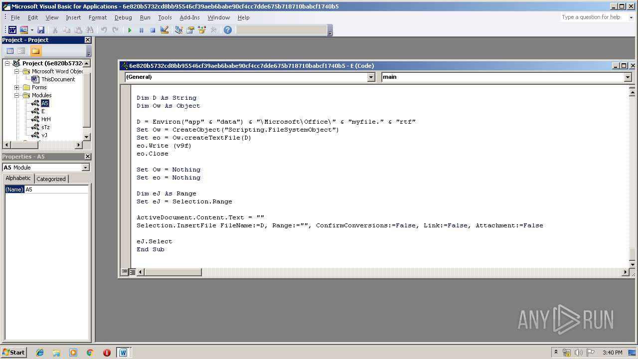 Screenshot of 6e820b5732cd8bb95546cf39aeb6babe90cf4cc7dde675b718710babcf1740b5 taken from 161719 ms from task started