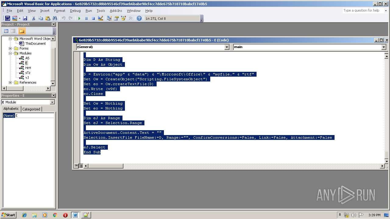Screenshot of 6e820b5732cd8bb95546cf39aeb6babe90cf4cc7dde675b718710babcf1740b5 taken from 102425 ms from task started